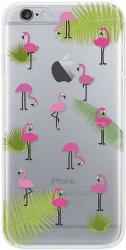4-OK Cover 4U puzdro pre iPhone 6/6S, motív plameniakov