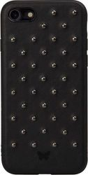 SBS Smart and Ladies Studded puzdro pre iPhone 8/7/6S/6, čierna