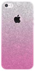 4-OK GLAM puzdro pre iPhone SE/5, zlato-ružové
