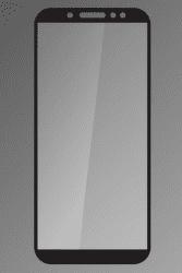 Qsklo ochranné sklo pre Samsung Galaxy A6+ 2018, čierna