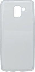 Mobilnet gumené puzdro pre Samsung Galaxy J6 2018, transparentná