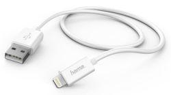Hama 138222 USB-Lightning kábel 1m biely