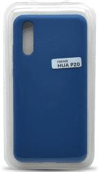 Mobilnet silikónové puzdro pre Huawei P20, modrá