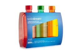 Sodastream Tripack oranžová/červená/zelená náhradné fľaše (1l/3ks)