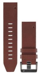 Garmin QuickFit 22 kožený remienok, hnedý
