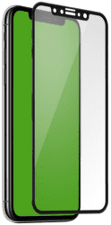 SBS 4D tvrdené sklo pre Apple iPhone X/Xs s aplikátorom, čierna