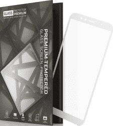 TGP ochranné sklo pre Huawei Y6 Prime 2018, biela