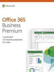 Microsoft Office 365 Business Premium SK (1 rok)