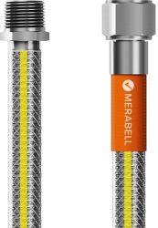 "Merabell Gas Profi R1/2"" - Rp1/2"" 100 cm  plynová hadica"