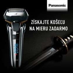 Darček k holiacim strojčekom a zastrihávačom Panasonic