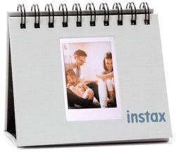 Fujifilm Instax Twin Mini Flip Album, dymovo biela
