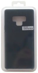 Mobilnet silikónové puzdro pre Samsung Galaxy Note9, čierna
