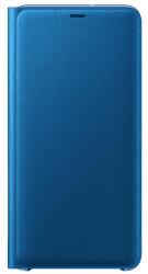 Samsung Wallet Case knižkové puzdro pre Samsung Galaxy A7 2018, modrá
