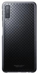 Samsung Gradation Cover zadný kryt pre Samsung Galaxy A7 2018, čierna