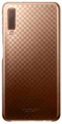 Samsung Gradation Cover zadný kryt pre Samsung Galaxy A7 2018, zlatá
