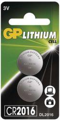 GP CR2016 2 KS, Batéria
