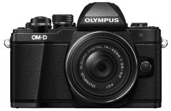 Olympus E-M10 Mark II čierny + Pancake 14-42 EZ Kit