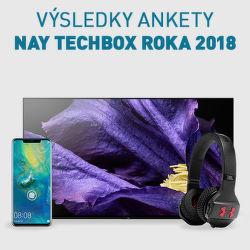 Výsledky ankety NAY TECHBOX roka 2018