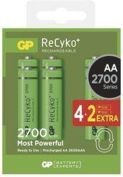 GP ReCyko+ 2700 HR6 (AA),  4+2 ks
