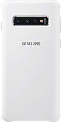 Samsung silikónové puzdro pre Samsung Galaxy S10+, biela