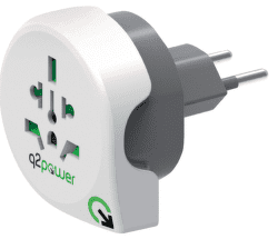 Q2 Power World - Switz., cest. adaptér