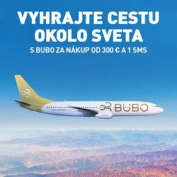 Vyhrajte cestu okolo sveta privátnym BUBO lietadlom