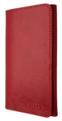 Fixed Pocket Book kožené puzdro pre Apple iPhone X/Xs, červená
