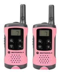 Motorola TLKR T41 vysielačka ružová (2ks)