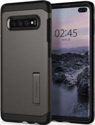 Spigen Tough Armor puzdro pre Samsung Galaxy S10+, metalická