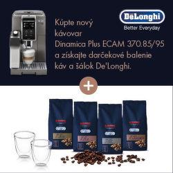 Darček ku kávovarom De´Longhi