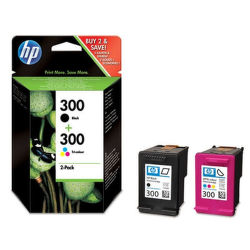 HP CN637EE No.300 black + No.300 color - atrament