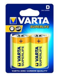 Varta Superlife D 2020/2 R20, 2ks
