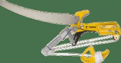 TOPEX Húsenica - nožnice na konáre sprevodom azáhradnou pílou, čepeľ 57 mm