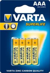 VARTA VAR 2003 4X zinko-uhlíkové AAA batérie 4x blister