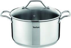 TEFAL A7024684 Stainless Steel - hrnec s poklicí 24 cm