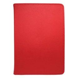 MOBILNET UNI (10) červené otočné púzdro na tablet