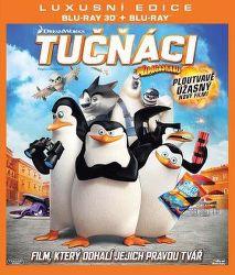 Tučniaky z Madagascaru (DreamWorks) -3D film Blu-Ray