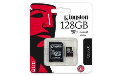 Kingston 128 GB Micro-SDXC UHS-I Class 10 vystavený kus s plnou zárukou