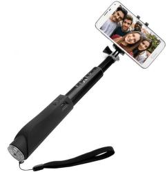 Fixed Bluetooth selfie tyč, čierna