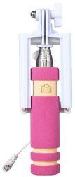 Winner selfie tyč mini s 3,5 mm konektorom, ružová