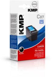 KMP C87 Black komp. náplň PG540XL