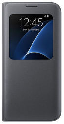 Samsung S View EF-CG935PB SG S7+ (čierne)