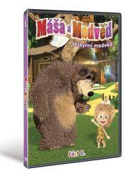 Máša a Medveď 8 - Jaskynný - DVD film