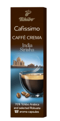 Tchibo Cafissimo Caffé Crema India Sirisha (10ks)