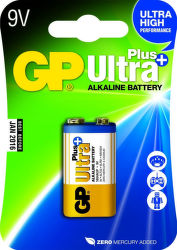 GP Ultra Plus - 9V, 1ks