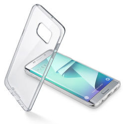 CellularLine Zadný číry kryt Clear Duo Samsung Galaxy S7 Edge