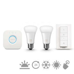 Philips Hue white ambiance 9.5W A60 E27 set EU