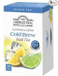 Ahmad Ľadový čaj citrón & limetka (20ks)