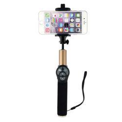 Winner selfie tyč s Bluetooth tlačidlom, čierno-zlatá