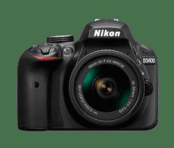 Nikon D3400 + AF-P DX 18–55 f/3,5–5,6G